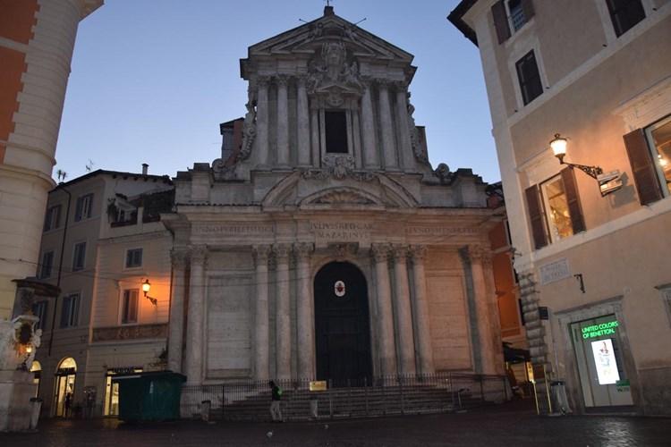 Chiesa Santi Vincenzo e Anastasio a Fontana di Trevi
