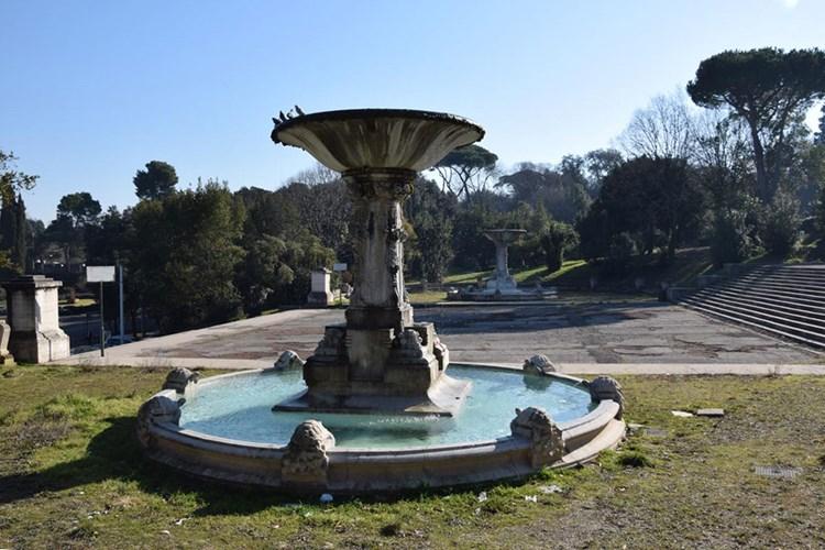 Fontane delle Tartarughe a Villa Borghese