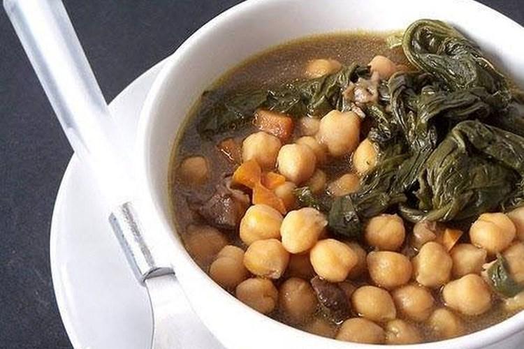 Zuppa di Ceci ( o Zemin)