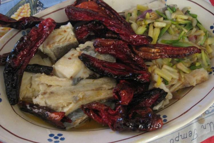 Baccalà con Peperoni Cruschi