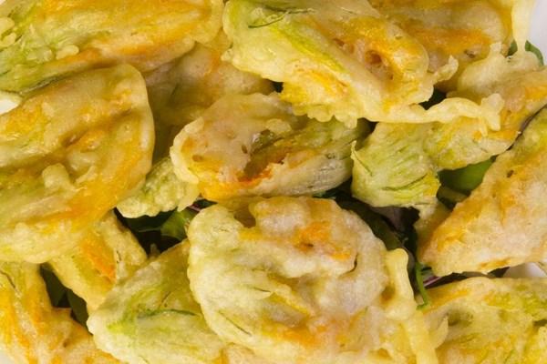 Fiore di Zucca fritto alla Romana