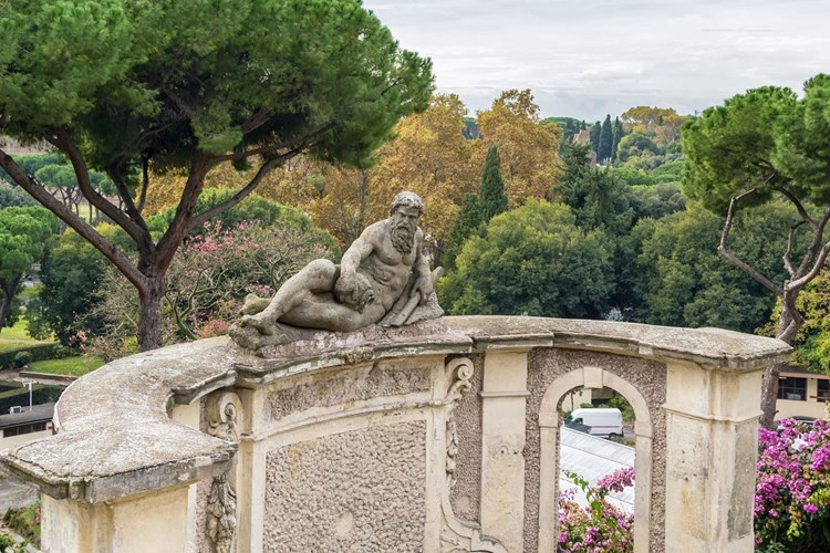 Fontana del Fiume a Celimontana