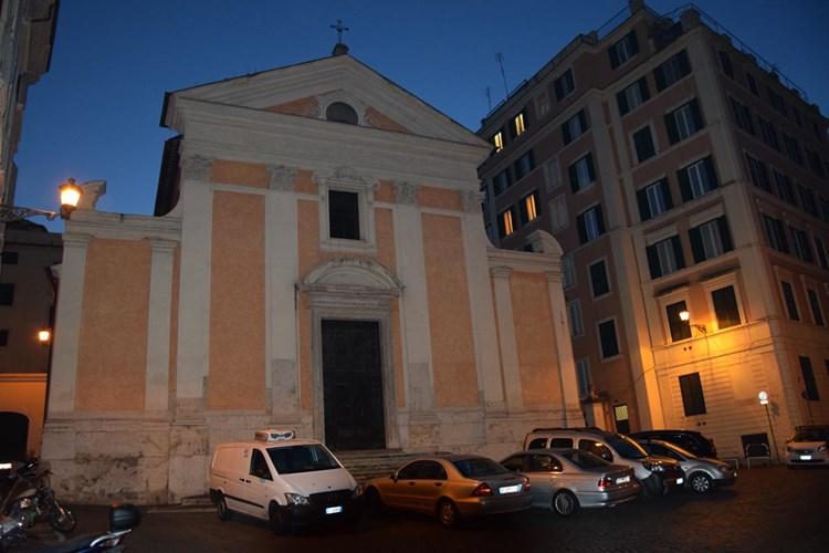 Santa Croce e San Bonaventura alla Pilotta