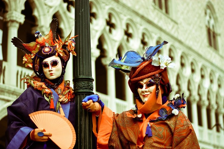 Venezia maschere carnevale