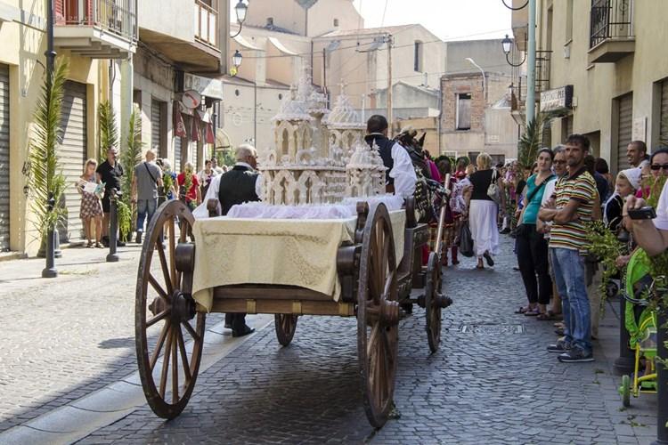 Matrimonio ottocentesco: Sposalizio Selargino
