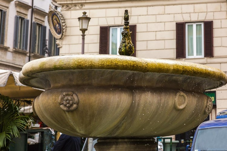 Fontana in Campo de' Fiori