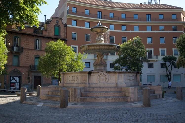 Fontana di Pio IX a Piazza Mastai