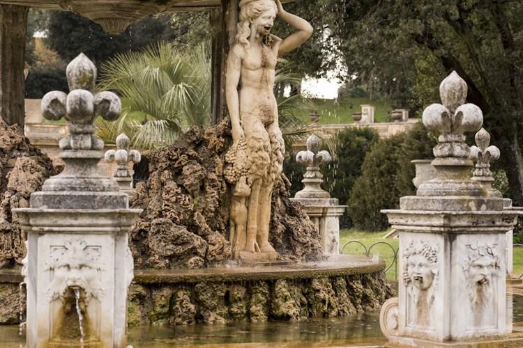 Fontana del Putto a Villa Doria Pamphilj