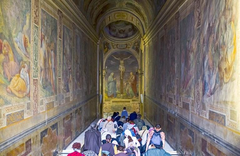 La Scala Santa, sulle orme del Cristo