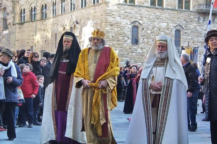 6 Gennaio, la 'Cavalcata dei Magi' a Firenze